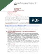 Partage Et s'Curit' Des Fichiers Sous Windows XP