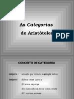 As Categorias Aristoteles Logica
