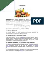 Alimentacion, Clasificacion, Enfermedades Por Falta de Vitaminas, Vacuna, Educacion Sexual y Ets