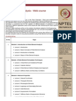 Finite Element Analysis -Part1