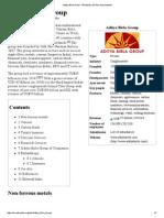 Aditya Birla Group - Wikipedia, The Free Encyclopedia