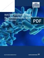 Water Disinfection in Commercial Buildings Manual