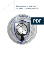 07 Palatal Expansion With the Nitanium Palatal Expander