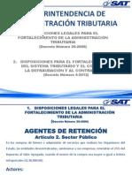 Agentes de Retención Sector Público