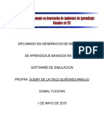 Plan de Clase Software de Simulacion