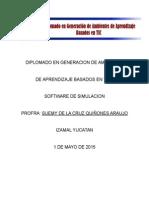 Plan de Clase Software de Simulacion