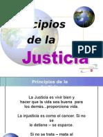 Principios de La Justicia