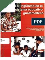 El_Bilinguismo en El Sistema Educativo Guatemalteco