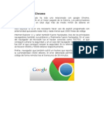 Bug en Google Chrome