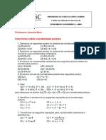 Exercício de Coodenadas Polares - Matemática