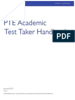 Ptea Test Taker Handbook English Jan 15