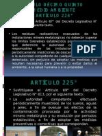 8 Artículo 224°-226