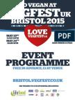 VegFest Bristol - 2015 Event Programme