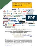 Guía práctica para la elaboración del diagnóstico clínico criminológico (Chihuahua, México)/Practical guide for the elaboration of the criminological clinical diagnosis (Chihuahua, Mexico)