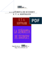 La Señorita de Scudery - Hoffman