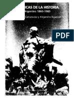 Cattaruzza y Eujanian. Historiografia