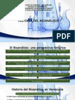 Historia Del Bioanálisis
