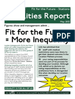 Fit for the Future Equalities Report
