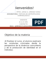 1. Antropología Criminológica