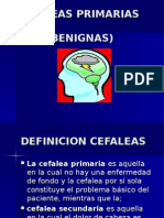CEFALEAS BENIGNAS