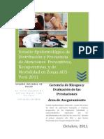 Estudio Epidemiologico de Distribucion y Frecuencia de Atenc Octubre2011
