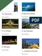 Lugares Turisticos de Centroamerica