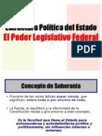 El Poder Legislativo Federal