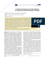 Using Luminescence To Show Intramolecular and Intermolecular Hydrogen Bonding