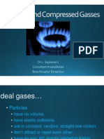 Gas Laws and Compressed Gasses