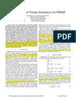 [6] - Comparison of Torque Estimators for PMSM.pdf