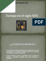Tema 1. Europa en El Siglo XIII