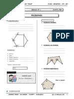 Geometria - 4to Año - Guia Nº1 - Polígonos