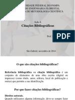 Aula 4 e 5 - Citações Bibliográficas