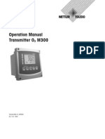 Operation Manual Transmitter O2 M300