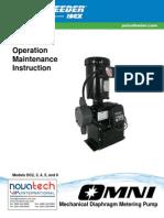Pulsafeeder OMNI DC2-DC6 Pump Manual
