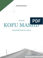 Kofu Masjid Proposal (Latest Update Edition)