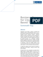 BSI-Business Case for Cloud Based Testing