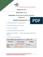 Braindump2go New Released 70-517 Exam Dumps PDF Free Download