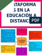 Plataformas en La Educación a Distancia