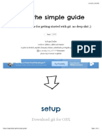 git - the simple guide - no deep shit!