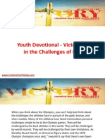 Youth Devotional - Victorious in the Challenges of Life