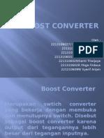 Boost Converter