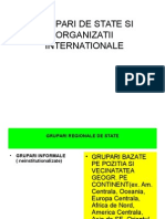 State Si Organizatii Internationale