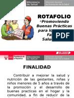 Rotafolio Practicas Saludable Familia