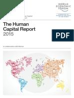 WEF Human Capital Report 2015