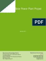 Gkc Oneworld Community Solar Power Plant Jhansi
