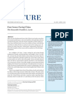 Four Issues Facing China
