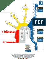 Terminal Gates Map