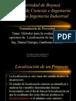 Métodos de Localización de Proyectos