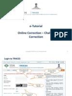 E-Tutorial - Online Correction- Challlan Correction